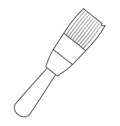 brush paint art vector image vector image