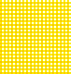 checkered cloth picnic Seamless Tablecloth fabric vector image