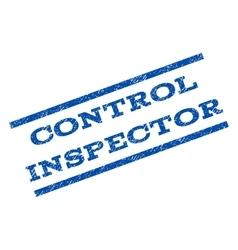 Control Inspector Watermark Stamp vector