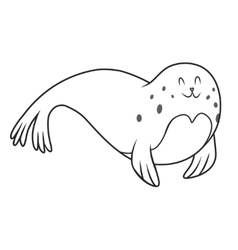 Fur seal vector