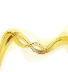 Golden trend background vector