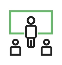 Online Classroom vector