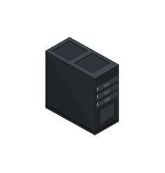 Pc case unit technology hardware device computer vector