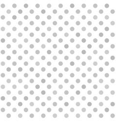 Polka dot pattern seamless background vector
