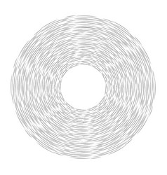 round frame of pencil strokes and stripes vector image