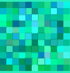 Teal abstract 3d cube background vector