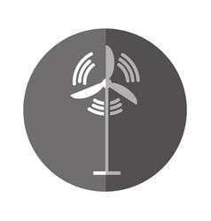 wind turbine isolated vector image vector image