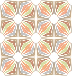 Retro wallpaper Vintage Seamless pattern vector image
