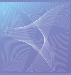 background line guilloche color wave vector image