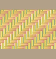 Bamboo weave seamless background vector