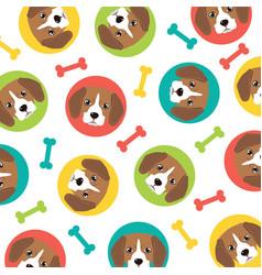 Beagle pattern vector