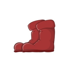 Boots icon cartoon style vector