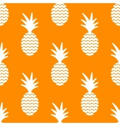 Pineapple simple seamless background vector