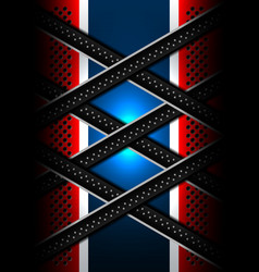 Red blue metal lines backgrounds vector