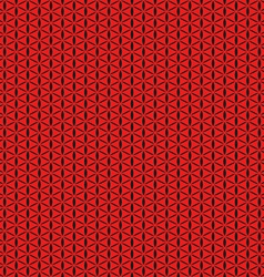 Red seamless background abstract geometric vector image