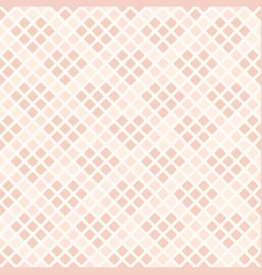 rose diamond pattern with hearts seamless vector image