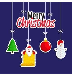 Christmas Holiday Decoration Concept vector image vector image
