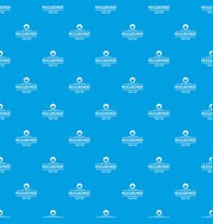 flask chemical pattern seamless blue vector image