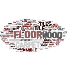 Florence word cloud concept vector