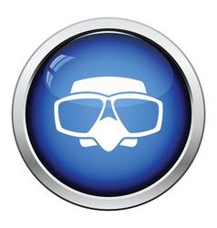 Icon of scuba mask vector