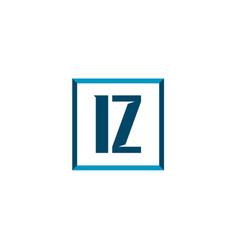 Initial letter logo iz template design vector