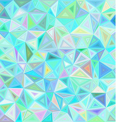 Light irregular triangle mosaic tile background vector image