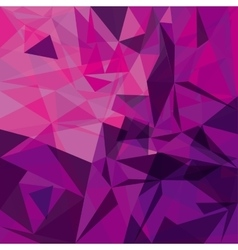 Polygonal background Wallpaper design vector image