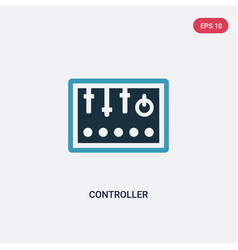 two color controller icon from industry concept vector image