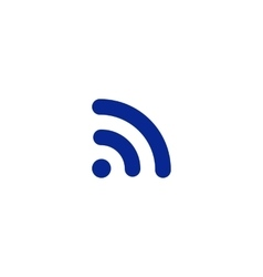 Wi-Fi symbol icon vector