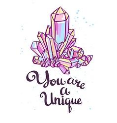 You are a unique Hand drawn calligraphic quote vector