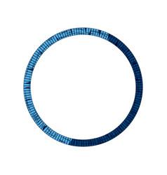 blue tribal border decoration free spirit style vector image vector image