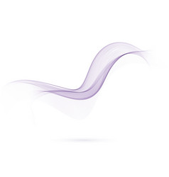 abstract color wavy lines purple color vector image