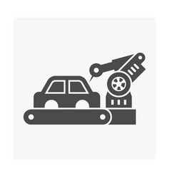 car manufacture icon vector image