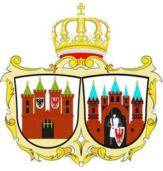 Coat of arms of brandenburg an der havel in vector