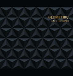 geometric triangle pattern vector image