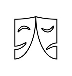 Masks logo vector