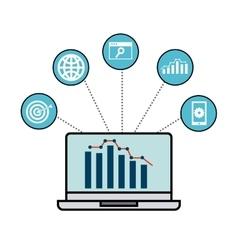 Seo technology design vector