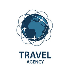 Travel logo image vector