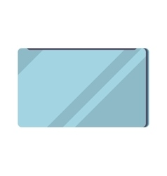 Closed laptop computer notebook icon vector image vector image