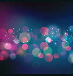Abstract Christmas light background vector image