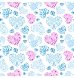 Bright openwork seamless pattern vector image