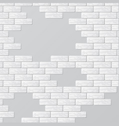 gray brick wall with text places vector image vector image