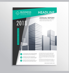Awesome business brochure flyer design template vector