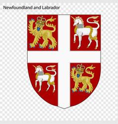 Emblem of quebec province of canada vector