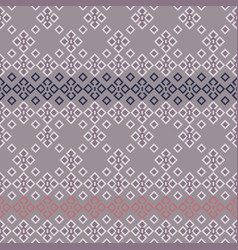 geometrical lace seamless pattern background vector image