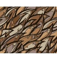 Seamless hand-drawn pattern vector