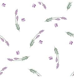 Lavender decorative seamless pattern vector