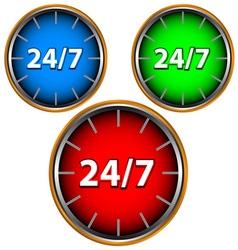 Three service icon vector image