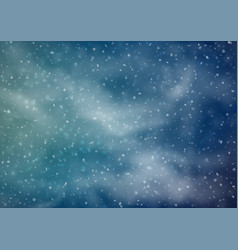 Abstract snowy background vector