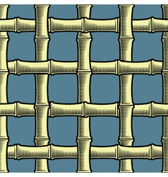 Bamboo seamless wallpaper vector